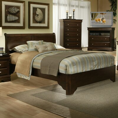 Seafarer Panel Bed Size: California King