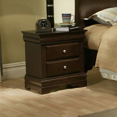 North Beach 2 Drawer Nightstand