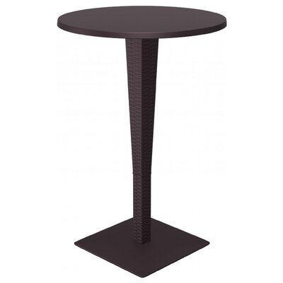 Jaelyn Traditional Bar Table Finish: Brown