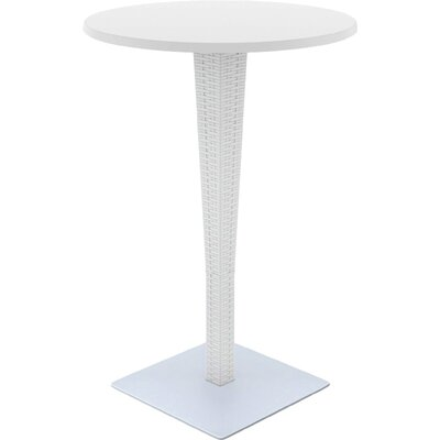 Jaelyn Traditional Bar Table Finish: White