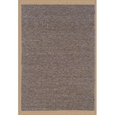 Landenberg Hand-Woven Brown/Blue Area Rug Rug Size: Rectangle 53 x 76