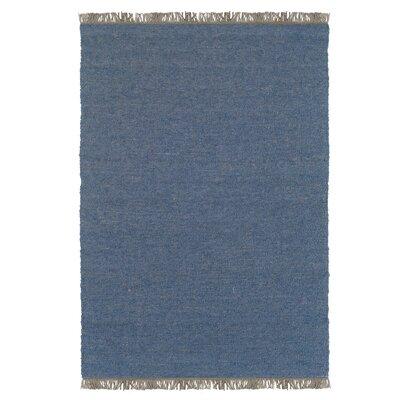 Landenberg Hand-Woven Blue Area Rug Rug Size: 710 x 104