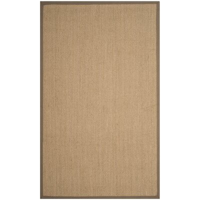 Lattimore Beige Area Rug Rug Size: Rectangle 4 x 6
