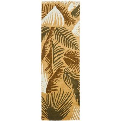 Felton Taupe / Multi Contemporary Rug Rug Size: Runner 26 x 8