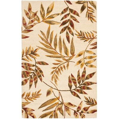 Felton Light Dark Beige / Multi Contemporary Rug Rug Size: 2 x 3
