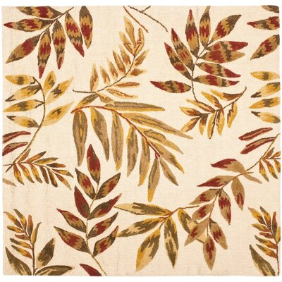 Felton Light Dark Beige / Multi Contemporary Rug Rug Size: Square 6
