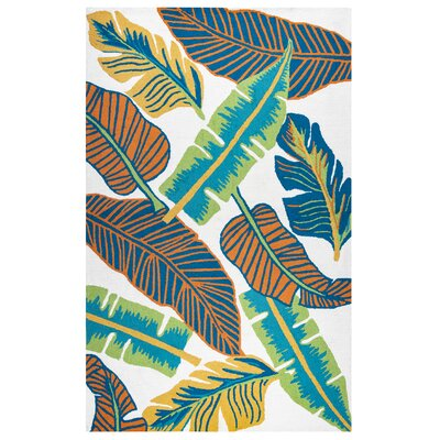 Cayman Hand-Tufted Indoor/Outdoor Area Rug Size: 5 x 76