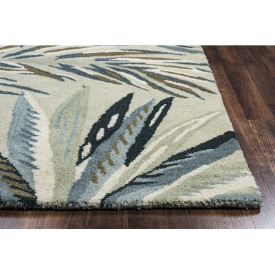 Minnie Hand-Tufted Khaki Area Rug Rug Size: 8 x 10