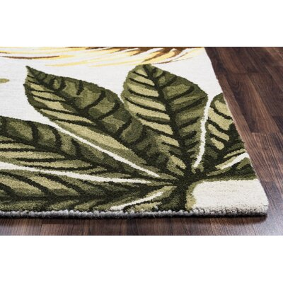 Minnie Hand-Tufted Sage Area Rug Rug Size: 8 x 10