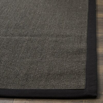 Greene Charcoal Area Rug Rug Size: 4 x 6