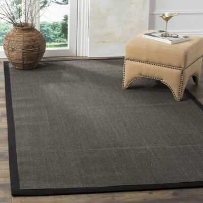 Greene Charcoal Area Rug Rug Size: 8 x 10