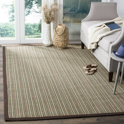 Greene Beige/Purple Area Rug Rug Size: 3 x 5