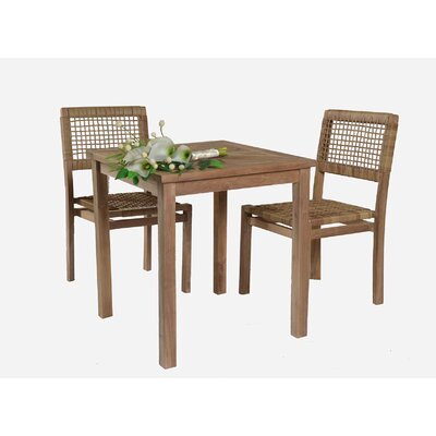 Edward 3 Piece Bistro Set
