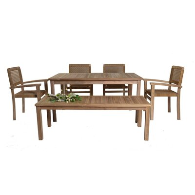 Ginger 6 Piece Dining Set
