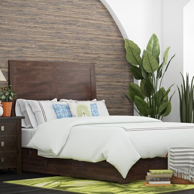 Oxalis Storage Platform Bed Size: King