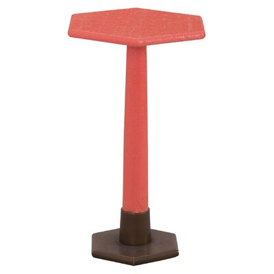 Stanford End Table Color: Coral