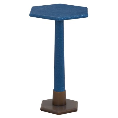 Stanford End Table Finish: Navy Blue