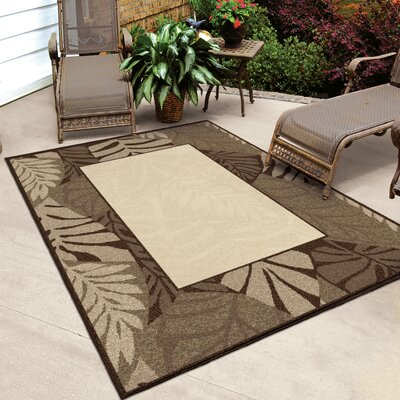 Guillemot Driftwood Beige/Brown Indoor/Outdoor Area Rug