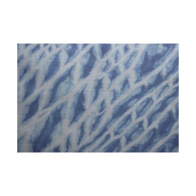 Grand Ridge Blue Indoor/Outdoor Area Rug Rug Size: Rectangle 2 x 3