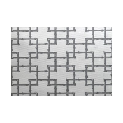 Connelly White Indoor/Outdoor Area Rug Rug Size: 4 x 6