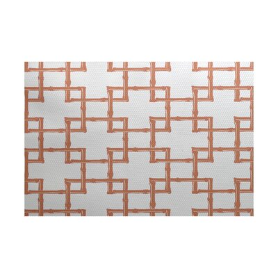 Connelly Coral Indoor/Outdoor Area Rug Rug Size: 4 x 6