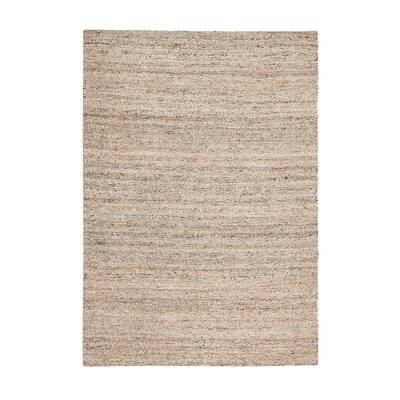 Ardenwood Hand-Woven Gray/Ivory Area Rug Rug Size: 5 x 8