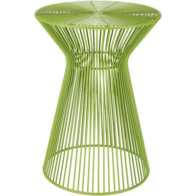 Hodov End Table Color: Lime