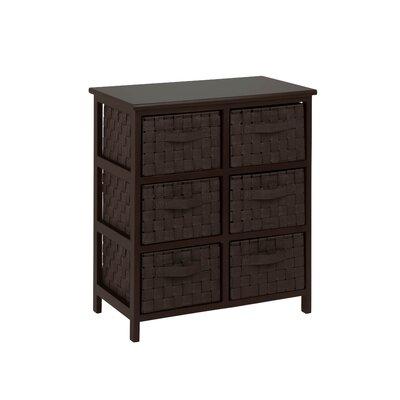 Karpasia 6 Drawer Storage Chest BAYI1118 26881032