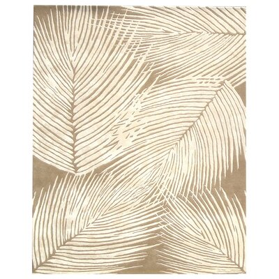 Felton Beige / Ivory Rug Rug Size: Rectangle 5 x 8
