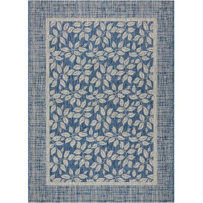 Key Haven Denim Indoor/Outdoor Area Rug Rug Size: 710 x 106