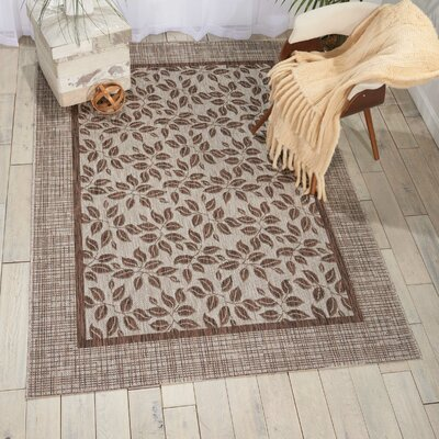 Key Haven Natural Indoor/Outdoor Area Rug Rug Size: Rectangle 53 x 73