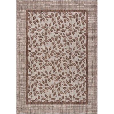 Key Haven Natural Indoor/Outdoor Area Rug Rug Size: 36 x 56