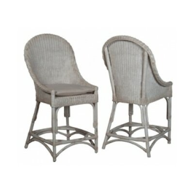Ravenswood Bar Stool Color: Signature Antique White