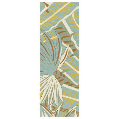 Navarre Handmade Ivory Indoor/Outdoor Area Rug Rug Size: Rectangle 5 x 76