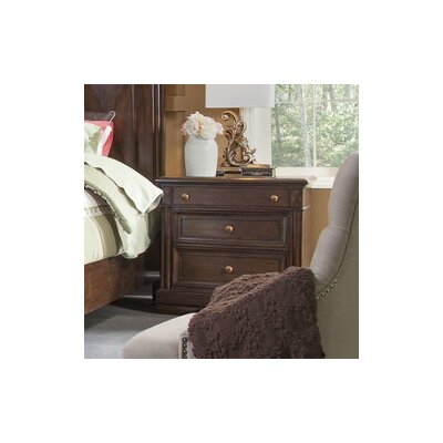 Greenbriar Rustic Elegance 3 Drawer Nightstand