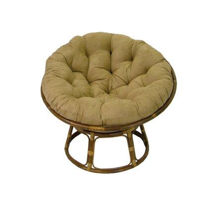 Newark Rattan Papasan Chair Upholstery: Javav
