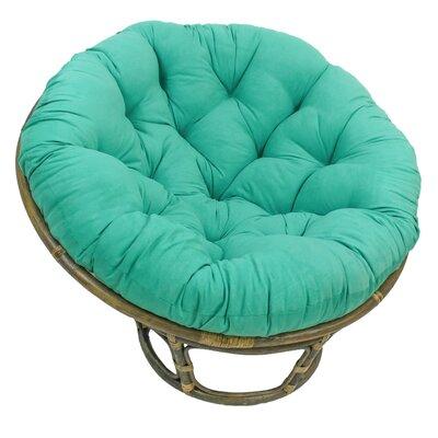 Decker Papasan Chair Upholstery: Emerald
