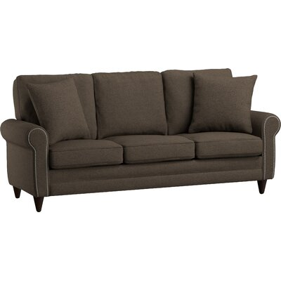Truman Sofa Upholstery: Brown