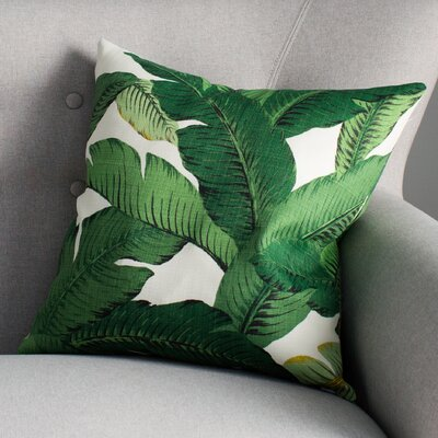 Elgin Foliage Throw Pillow