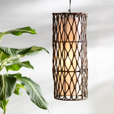 Aleshia Round Pendant Hanging Lamp Size: Medium