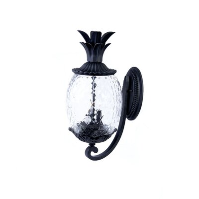 Waterbury 2-Light Outdoor Sconce Finish: Matte Black