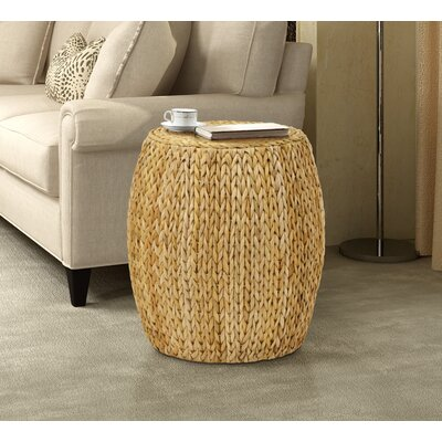 Dimitri Drum End Table Color: Natural