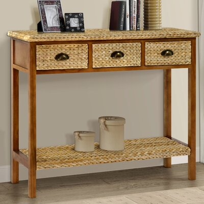 Kissimmee Console table Color: Natural