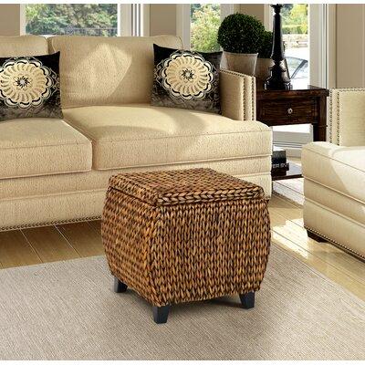 Dimitri Storage Ottoman Upholstery: Gold Patina