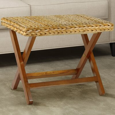 Kissimmee Folding Stool Color: Natural