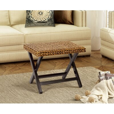 Kissimmee Folding Stool Color: Gold Patina