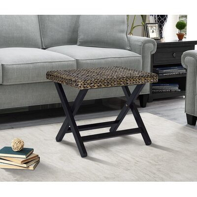 Kissimmee Folding Stool Color: Silver Grey Patina