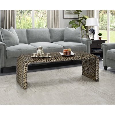 Dimitri Coffee Table Color: Silver Grey Patina