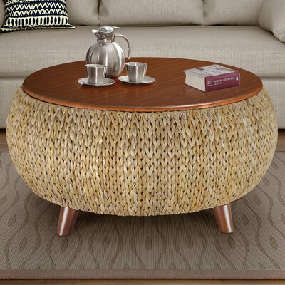Dimitri Round Coffee Table Color: Natural
