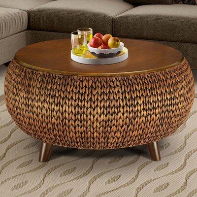 Dimitri Round Coffee Table Finish: Gold